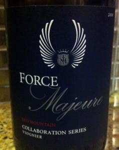 2010 Force Majeure Viognier