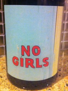 2008 No Girls Grenache