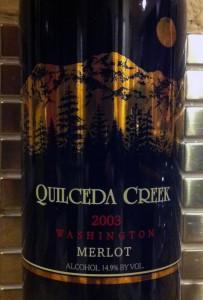 2003 Quilceda Creek Merlot