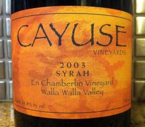 2003 Cayuse En Chamberlin