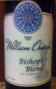 2010 William Church Bishops Blend